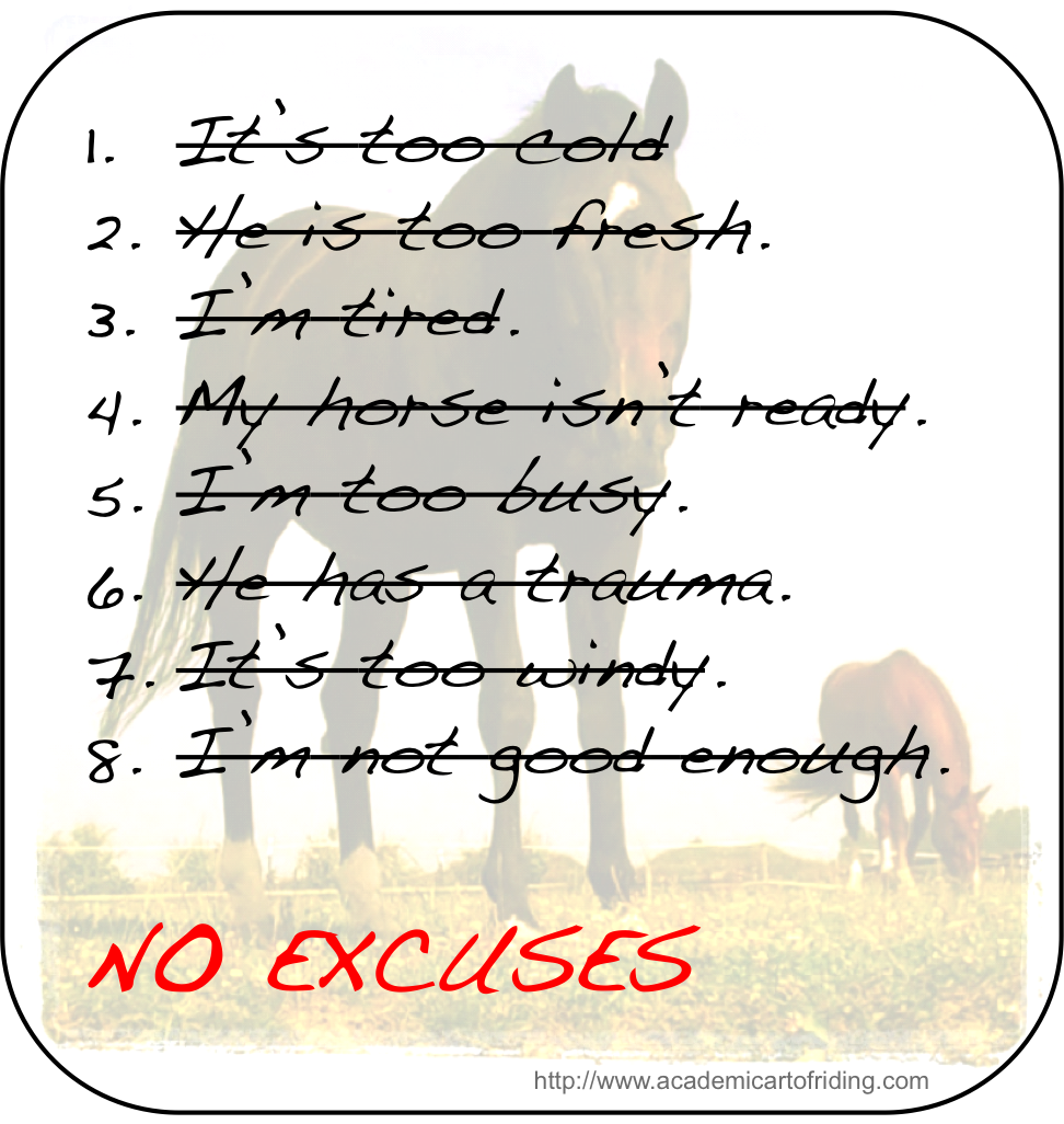 Thought of the week 01 There are only 2 options: make progress or make excuses...
